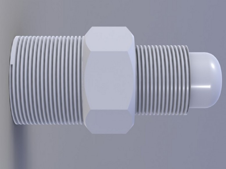 1/4 bsp to 5/16 unf Connector (CON14-516) Image