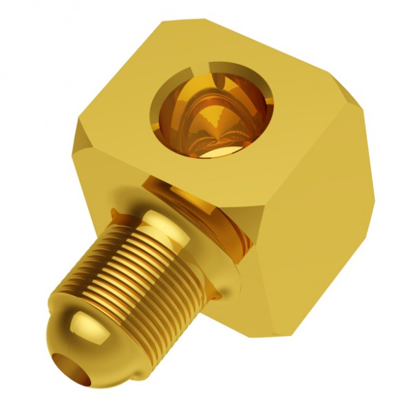 Square elbow fitting (EQU14) Image