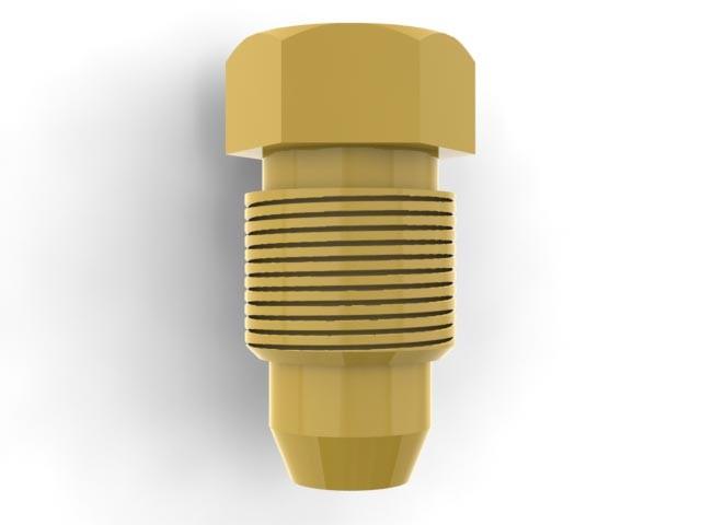 "Brass 5/16"" Blank Plug (B516) Image"