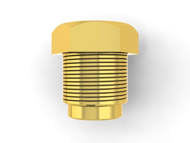 1/8 BSP sleeve nut (N18) Image